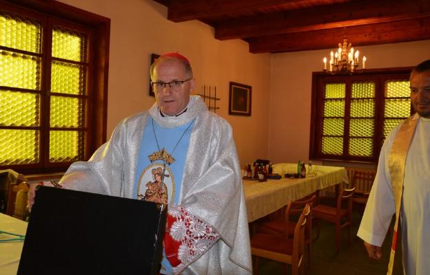 Bp Mirosław Gucwa z diecezji Bouar