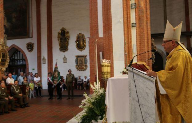 Eucharystii przewodniczył bp Jacek Kiciński