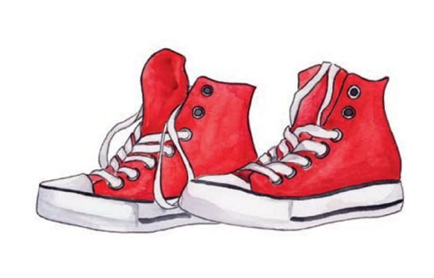 Znoszone buty