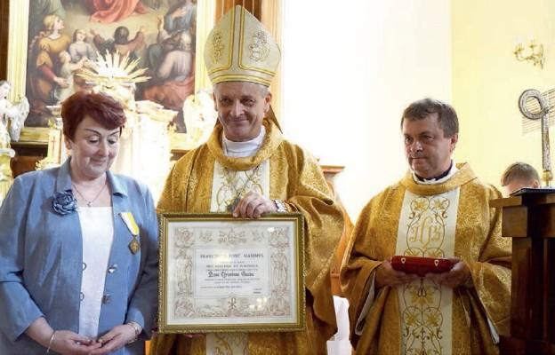 Medal od papieża dla katechetki z Jaworza