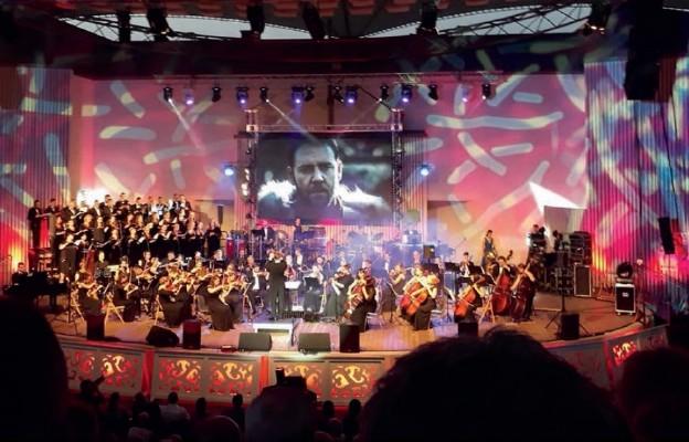 Polska orkiestra muzyki filmowej zagrała w Żywcu