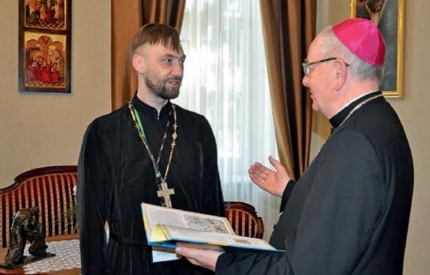 O. Sergij Dmytrijew i abp Stanisław Budzik
