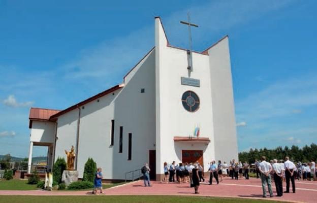 Kościół św. Maksymiliana Marii Kolbego został poświęcony