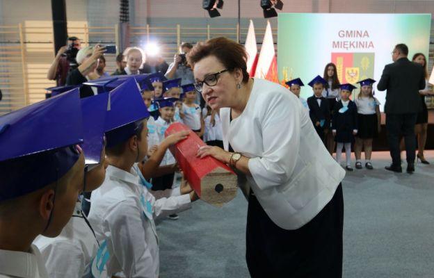 Minister Edukacji z wizytą w Lutyni