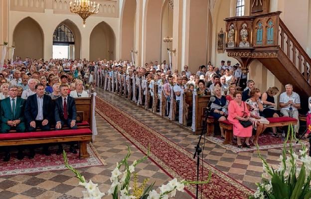 Stulecie kościoła w Mstyczowie
