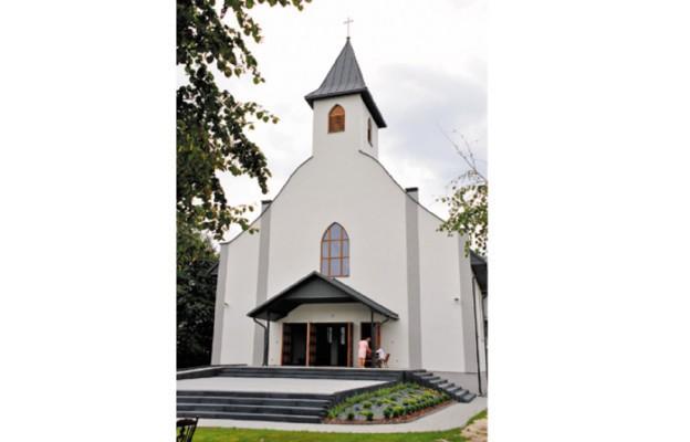 Nowa kaplica prezentuje się wyjątkowo pięknie