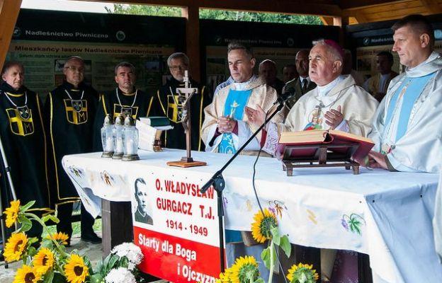 Mszy św. przy ołtarzu polowym przewodniczył bp Jan Szkodoń