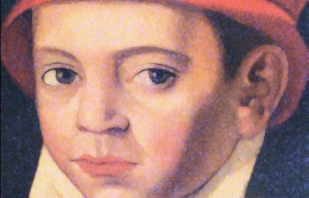 Scipione Delfini, Stanisław Kostka, ok. 1560 r. nowicjat jezuitów w Szampanii