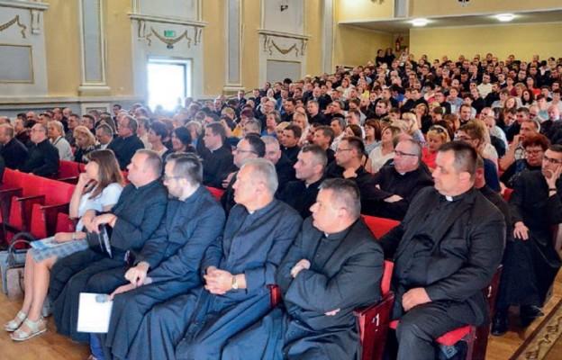 Wspólne spotkanie odbyło się w Domu Katolickim im. św. Józefa w Sandomierzu