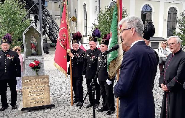 Wałbrzyskie obchody 38. rocznicy Porozumień Sierpniowych