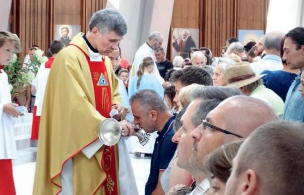 Święty Krzyż w Świątyni Opatrzności