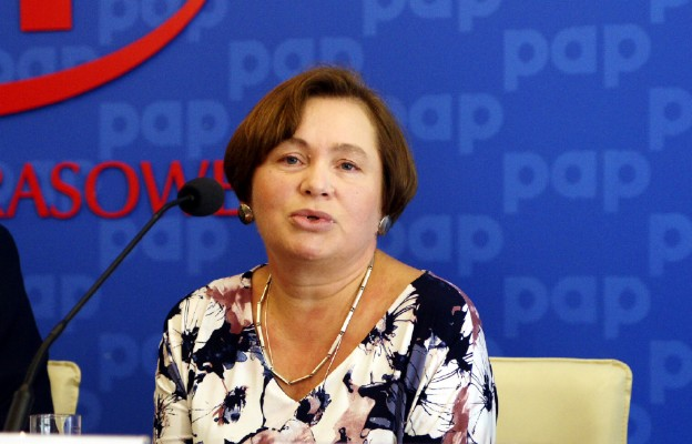 Beata Domańska z Fundacji Życie i Rodzina