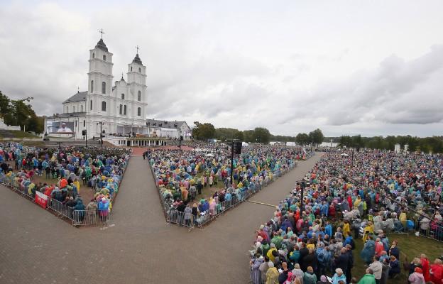 Papiez w sanktuarium narodowym Łotwy