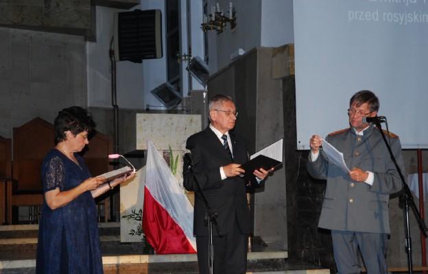 Wieczór pamięci Golgoty Wschodu w kościele Matki Bożej Zwycięskiej w Częstochowie