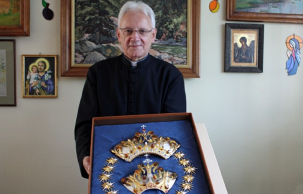 Przed koronacją Matki Bożej Latyczowskiej