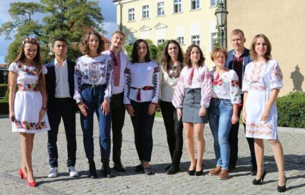 Praktykanci z Ukrainy