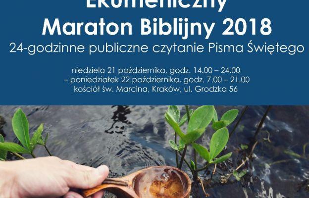Ekumeniczny Maraton Biblijny w Krakowie