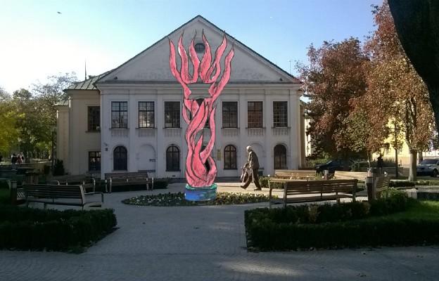 Tak ma wyglądać Pomnik Misji Jana Karskiego przed Placem Czartoryskich w Lublinie
