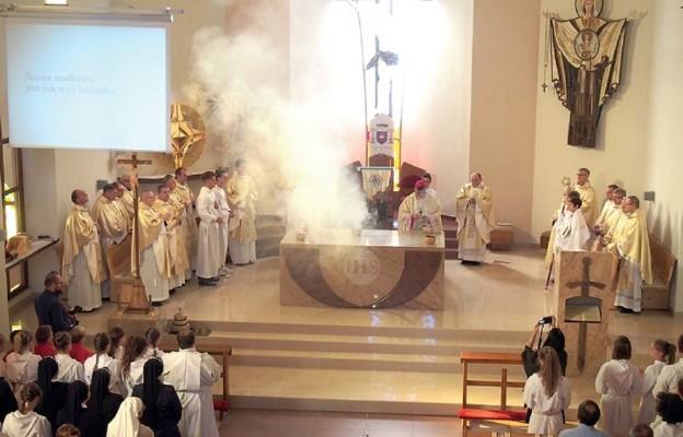 Poświęcenie kościoła na Górnym Borze