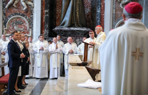 Msza w Bazylice Świętego Piotra w Watykanie w 40. rocznicę wyboru Karola Wojtyły na papieża