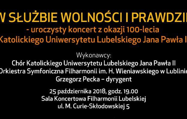 Jubileuszowy koncert Chóru KUL