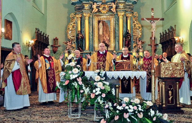 600 lat parafii Borek Stary