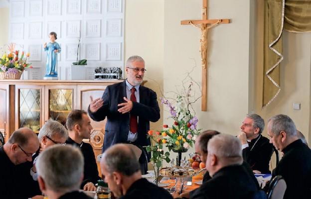 Spotkanie księży dziekanów