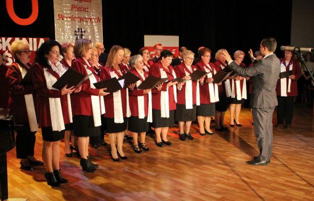 Pierwszy na scenie zaprezentował się chór Laudate Dominum z Sulechowa pod dyrekcją Leszka Knoppa