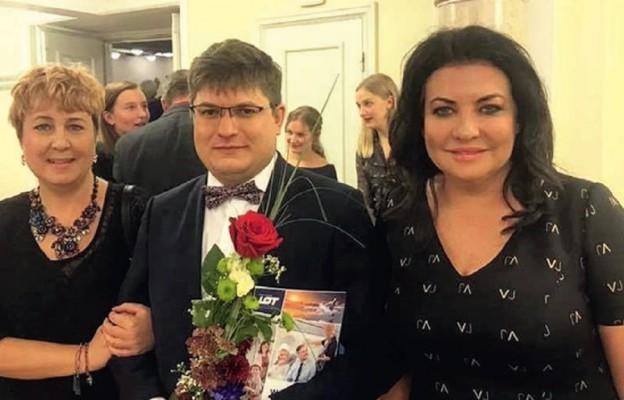 Katarzyna Gabrat-Szymańska, Michał Dobrzyński i Alicja Węgorzewska-Whiskerd