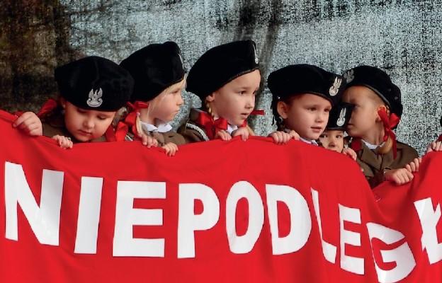 Występ przedszkolaków z Publicznego Przedszkola Zgromadzenia Sióstr Felicjanek w Przemyślu