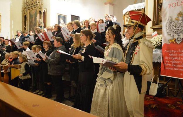 Koncert pieśni patriotyczno – religijnych w Milinie