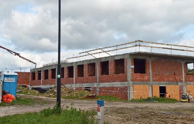 Prace przy budowie buskiego hospicjum posuwają się szybko