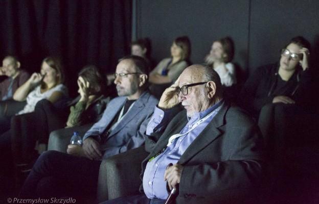 Andrzej Fidyk, Jerzy Hoffman, warsztaty montażu w ramach WAMA Film Festival w Olsztynie