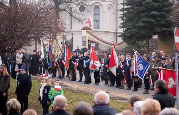 Odsłonięcie pomnika w Bieżanowie