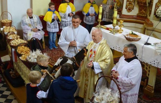 Uroczysta Msza św. w kościele w Kotli