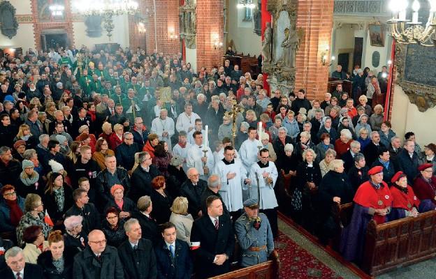 100. rocznica Niepodległości w legnickiej katedrze