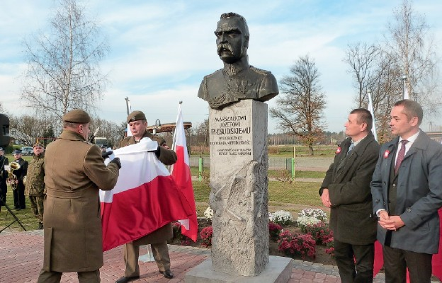 Marszałek Józef Piłsudski wBaszni Dolnej