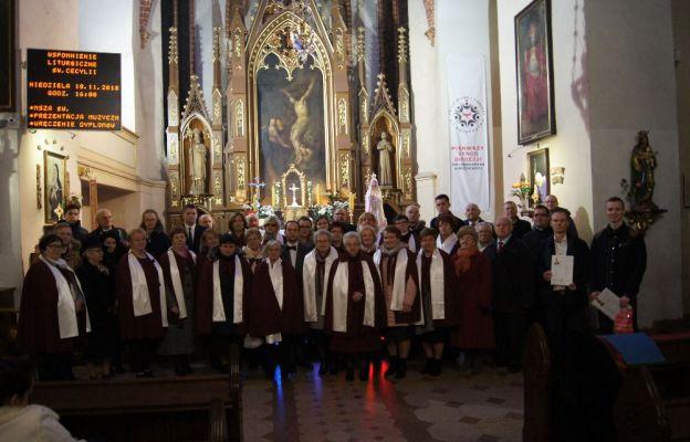 Uczestnicy Cecyliady w Sulechowie