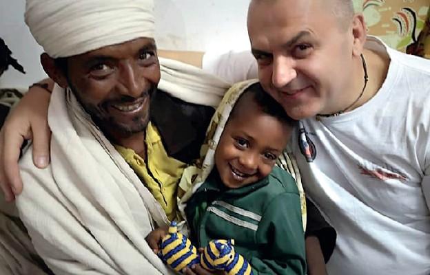 Wolontariusze w Etiopii