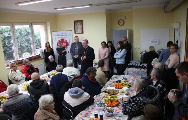 Spotkanie odbyło się w stołówce diecezjalnej Caritas przy ul. Bema w Zielonej Górze
