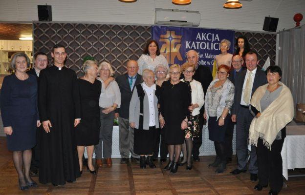 Uczestnicy jubileuszowych uroczystości