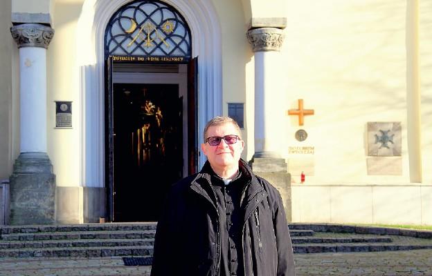 Ks. Wojciech Gnidziński, proboszcz parafii św. Katarzyny Aleksandryjskiej