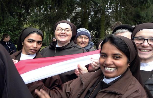 Tak siostry z Lasek świętowały 11 listopada 2018 r. – 100. rocznicę odzyskania niepodległości