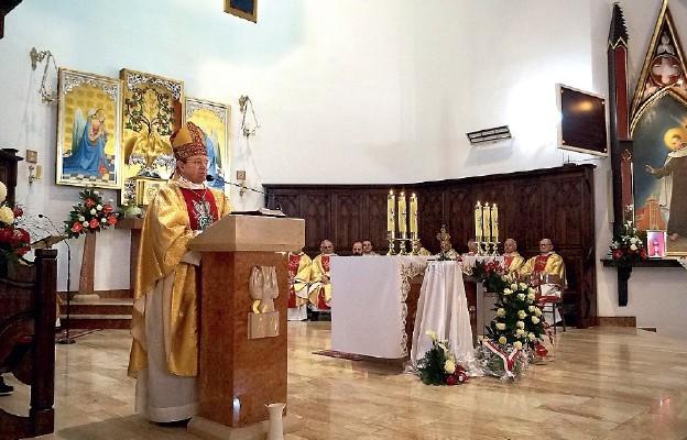 Uroczysta Msza św. odpustowa sprawowana przez bp. prof. Henryka Wejmana