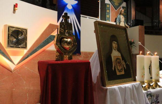 Relikwie św. Małgorzaty Marii Alacoque w Siechnicach