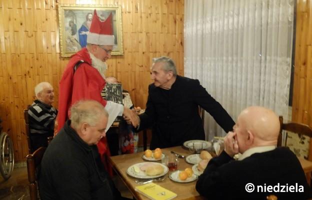 Klerycy w Domu Księży Emerytów w Częstochowie