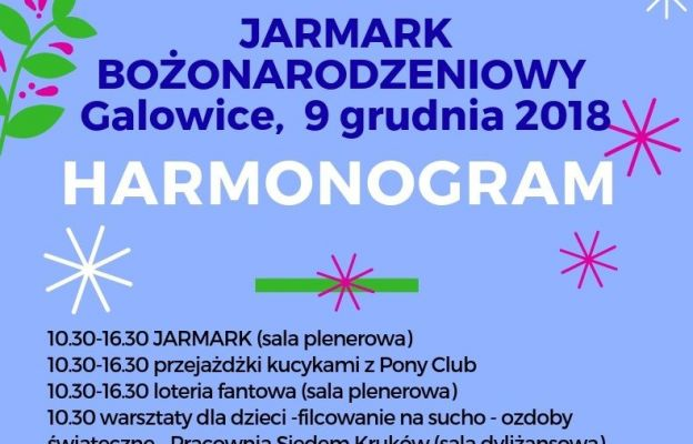 Jarmark Bożonarodzeniowy w Galowicach