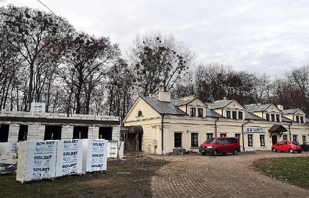 Nowa część zostanie połączona z istniejącym budynkiem hospicjum