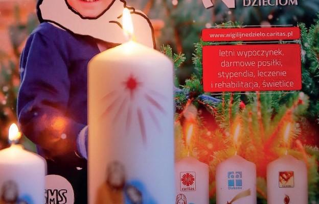 Ta świeca tworzy polską Wigilię