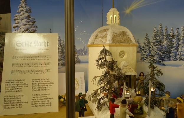 Wystawa szopek w Wiedniu. Kaplica Cichej Nocy